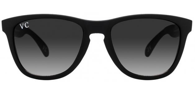 Vincent Chase VC 5166 Matte Black Grey Gradient 1111B2 Wayfarer Sunglasses