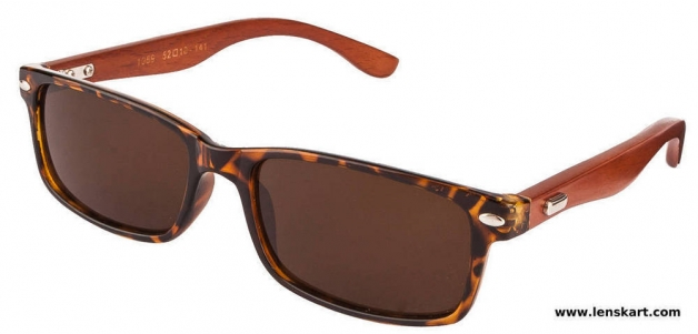 Vincent Chase VC-1069 Tortoise Brown Unisex Sunglasses