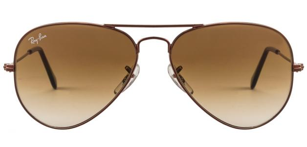 Ray-Ban RB3025 014/51 SIZE:55 Copper Brown 014/51 Men Metal Sunglasses
