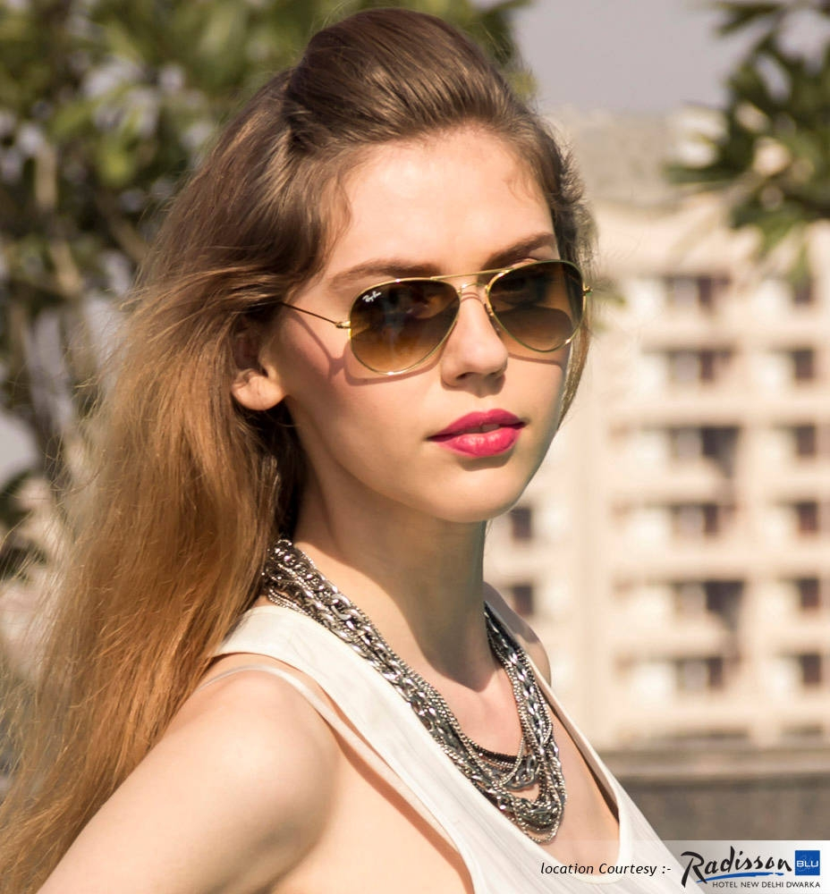 Buy Ray Ban Rb3025 001 51 Size 55 Golden Brown Gradient