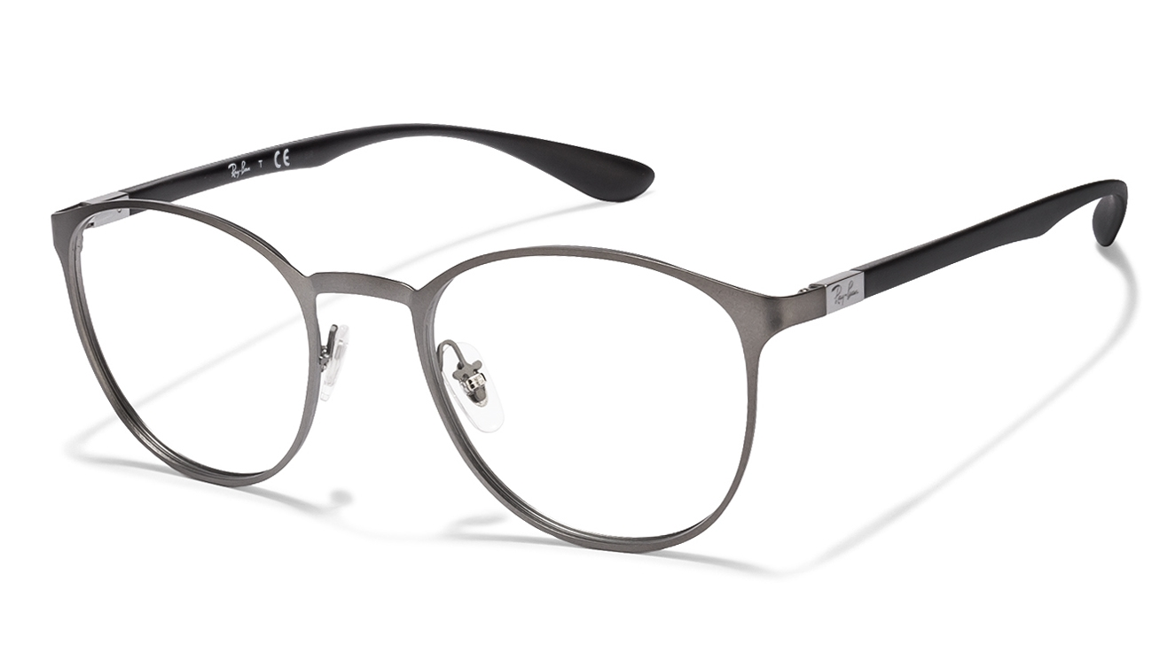 e8fe3e819f Buy Ray-Ban RX6355 Size  50 Gunmetal Black 2620 Eyeglasses   Rs.6990