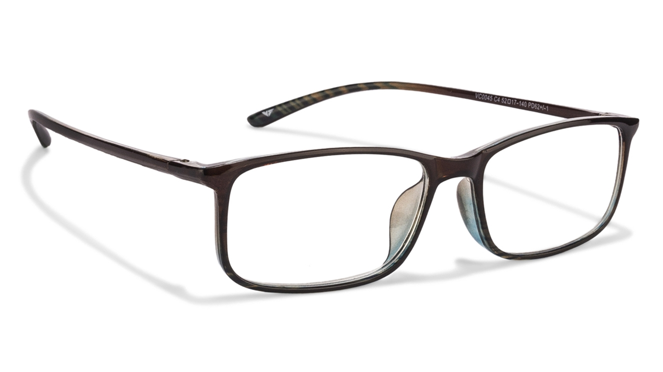 f8788b55e9 Buy Vincent Chase VC 0045 Brown Green Transparent C4 Reading Eyeglasses ( ONLY FOR +2.50